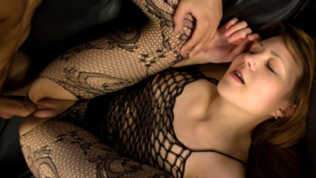 Horny Teenage In Fishnet Ravaged