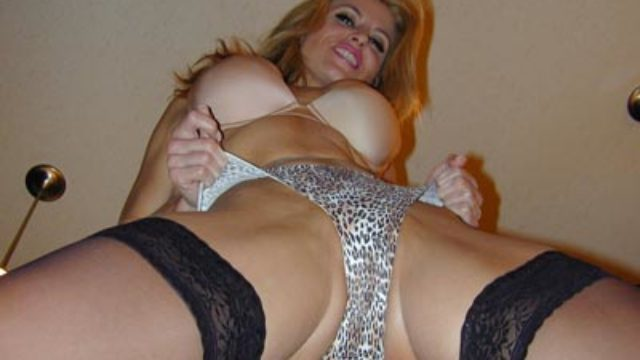 Getting Off Encouragement & Thong Taunt With Heather Vandeven