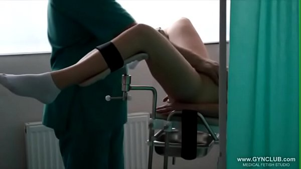 Women Climax At The Gynecological Stool