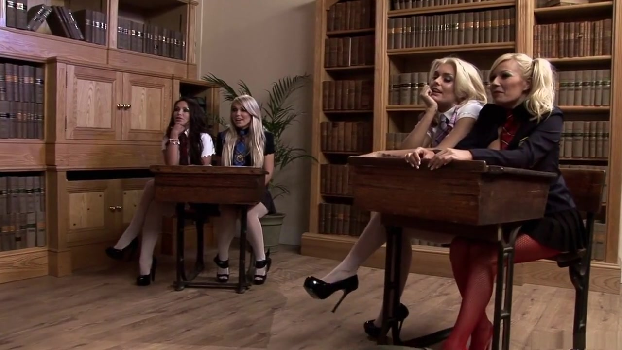 Crazy Pornographic Stars Fad Jane, Gemma Massey And Natasha Marley In Unique Onanism, Fake Penises/fucktoys Hard-core Sequence