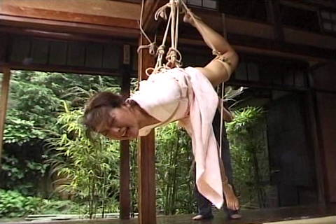 Within The Air Strap Restrain Bondage Sequence With Strap Dom