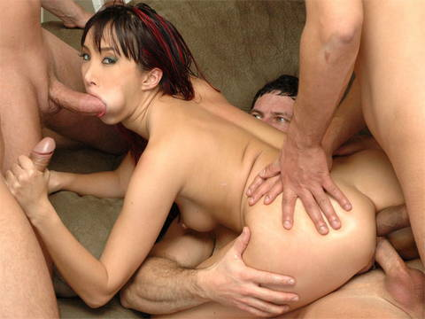 Katsuni Inhales And Boinks In Dual Intrusion
