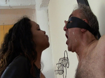 Dark-hued Slobbering Fetish